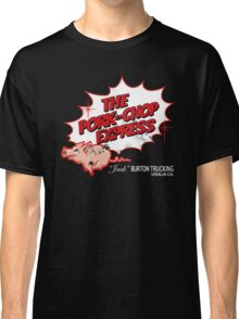 Pork Chop Express - Distressed Red Outline Variant Classic T-Shirt