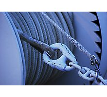 Ship's Rope Photographic Print