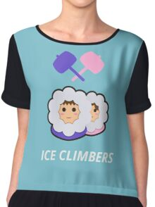 Ice Climbers Heads Chiffon Top
