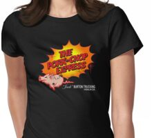 Pork Chop Express - Distressed Glow Variant Womens Fitted T-Shirt