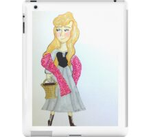 Sleeping Beauty Marker Art iPad Case/Skin
