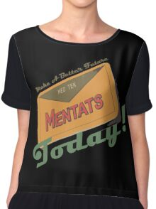 Mentats - A better future, Today!  - Fallout Chiffon Top
