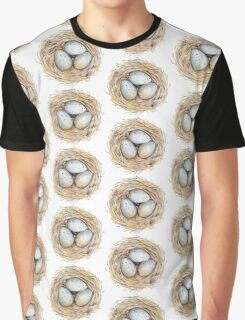 Robins Egg Nest Collection Graphic T-Shirt