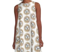 Robins Egg Nest Collection A-Line Dress