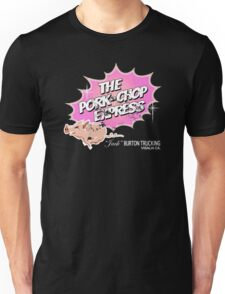 Pork Chop Express - Distressed Light Pink Variant Unisex T-Shirt