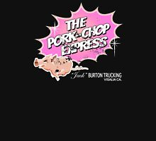 Pork Chop Express - Distressed Light Pink Variant Womens Fitted T-Shirt