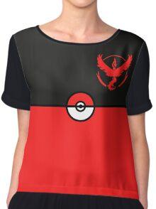 Red Team Pokemon Go Chiffon Top