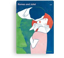 William Shakespeare - Romeo and Juliet Canvas Print