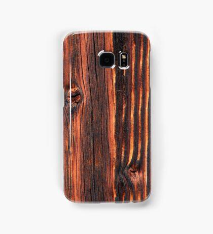 Wood texture Samsung Galaxy Case/Skin