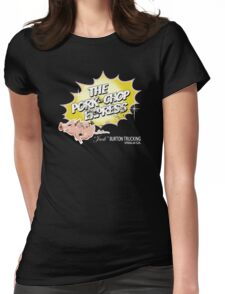 Pork Chop Express - Distressed Yellow Variant Womens Fitted T-Shirt