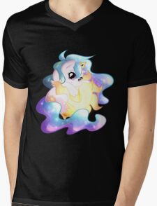 Chibi Celestia Mens V-Neck T-Shirt
