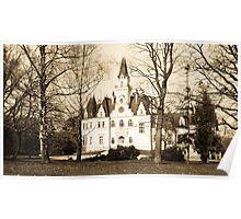 Castle Budmerice, Slovakia Poster