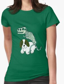 Poor Puppy  Womens Fitted T-Shirt