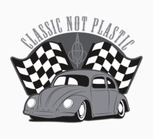 VW Beetle Classic Not Plastic Design in grey by UncleHenry