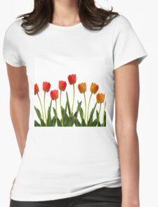 Summer breeze  Womens Fitted T-Shirt