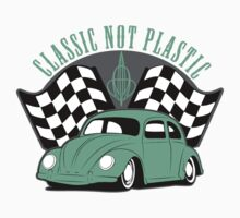 VW Beetle Classic Not Plastic Design in green by UncleHenry