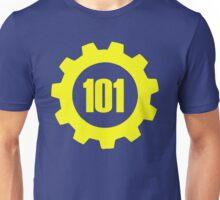 Vault 101 - emblem Unisex T-Shirt