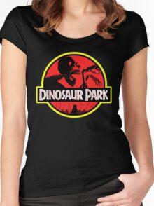 Dinosaur Park Women's Fitted Scoop T-Shirt
