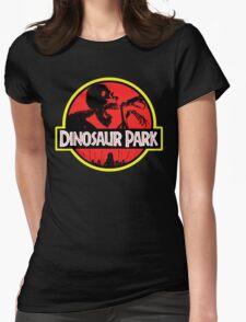 Dinosaur Park Womens Fitted T-Shirt