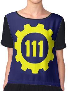 Vault 111 - Emblem Chiffon Top