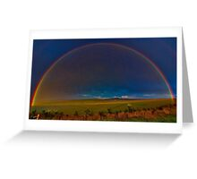 """""""A Promise At Sundown"""" Greeting Card"""