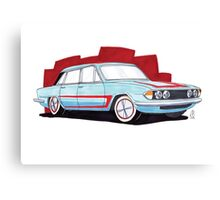Triumph 2000 Custom Canvas Print