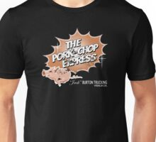 Pork Chop Express - Distressed Mocha Variant Unisex T-Shirt
