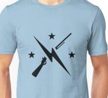 Minutemen Logo (black) - Fallout 4 Unisex T-Shirt