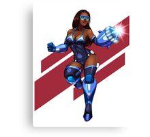 Mega Girl! Canvas Print