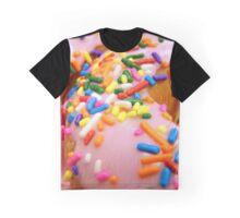 Doughnut Print Graphic T-Shirt