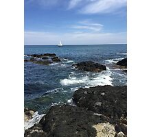 Sail Boat on the Water Photographic Print