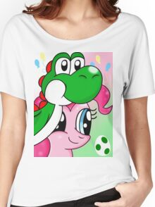 Yoshi and Pinkie Women's Relaxed Fit T-Shirt