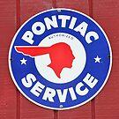 Pontiac Service sign by David Lee Thompson