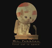 Mr. Pebbles - The first cat in space! Unisex T-Shirt