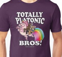 TOTALLY Platonic Bros!! *Definitely No Subtext Here Unisex T-Shirt