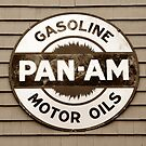 Pan Am vintage sign by David Lee Thompson