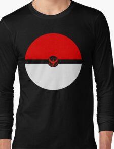 Team Valor minimalistic shirt Long Sleeve T-Shirt