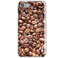 Roasted Coffee Beans Texture iPhone Case/Skin