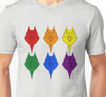 Wolf Pride - Rainbow Unisex T-Shirt