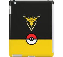 Yellow Team Pokemon Go iPad Case/Skin