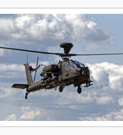 British Army Air Corps WAH-64D Longbow Apache AH1 Helicopter Sticker