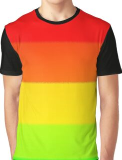 Multiple Colours Graphic T-Shirt