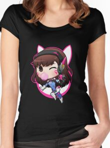 D. VA overwatch Women's Fitted Scoop T-Shirt