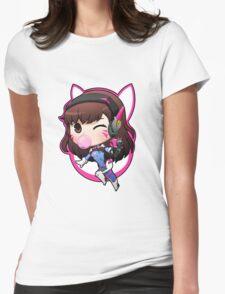 D. VA overwatch Womens Fitted T-Shirt
