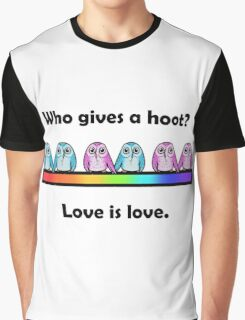 Who Gives A Hoot Graphic T-Shirt