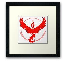 Team Valor - Pokemon GO Framed Print