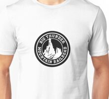 HeroThunderMountainBlack Unisex T-Shirt