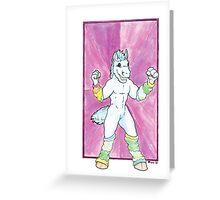 Mini Merf the Horse Greeting Card