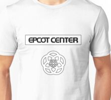 ECRectangleWhiteWithLogo Unisex T-Shirt