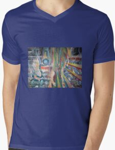 Breaking Through  Mens V-Neck T-Shirt